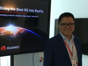 """4G changed lives. 5G will change society"" – Huawei's Steven Wu"